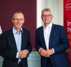 Partner Stewart Wilkinson (left) and Managing Partner Graham Street (right) of Royds Withy King