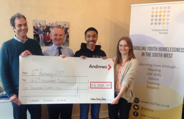 Andrews charity donation